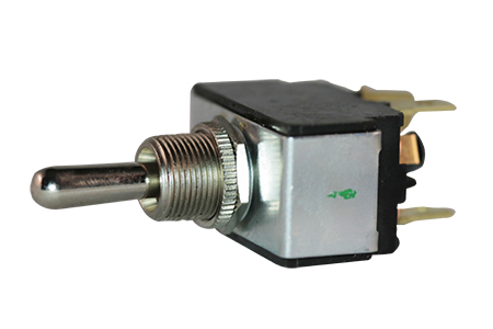 DPDT Toggle 21A Rev Mom Spade Switch