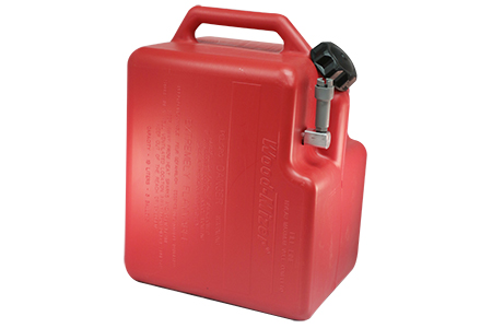 5-GALLON RED GASOLINE TANK ASSEMBLY