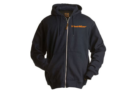 Hooded Full-Zip Sweatshirt with Thermal Lining
