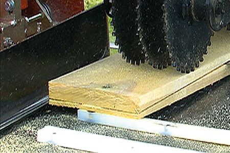 Shingle Belt for the Resaw Attachment