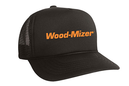 Wood-Mizer Black Mesh Hat