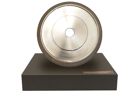 "8"" CBN Grinding Wheel 1-1/8"" Tooth Spacing"