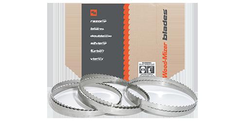 WOOD-MILLER Band Saw Blade Carbon Flex Back 100/'  1//4X0.25 X 24 STANDARD RAKER