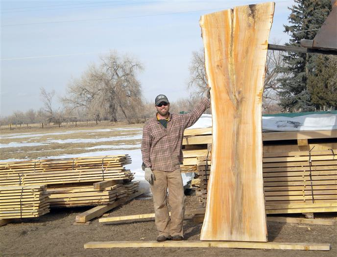 Woodworker Builds Business Salvaging Trees