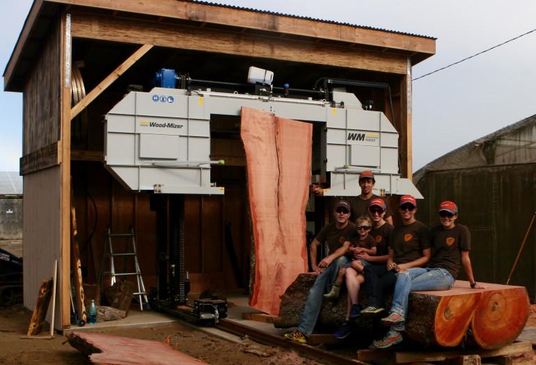 Urban Sawmilling Series Episode V - Kamuela Hardwoods
