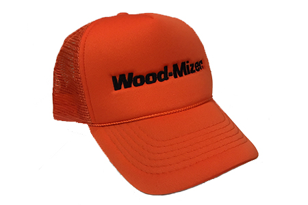Wood-Mizer Orange Mesh Hat