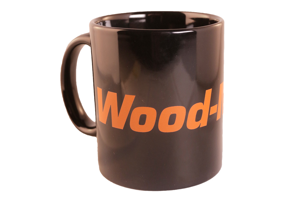 Wood-Mizer Black Ceramic Mug