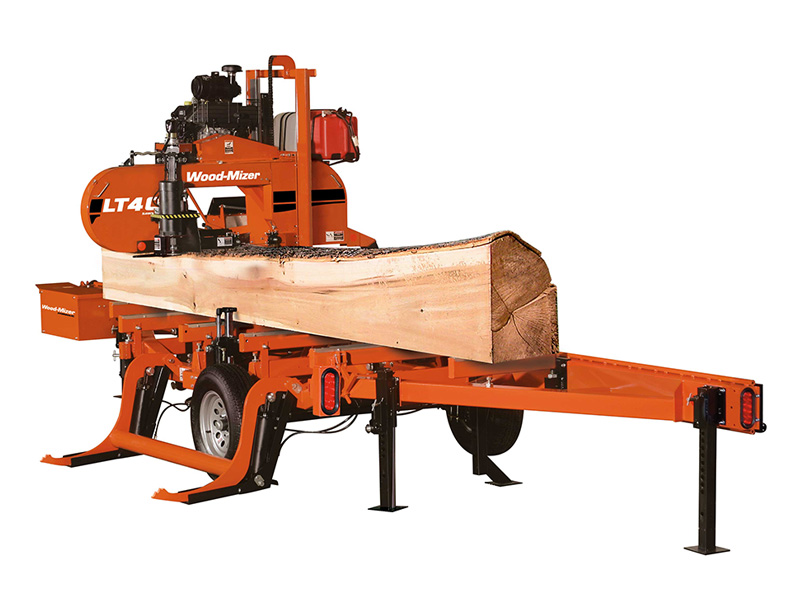 LT40 Hydraulic with log