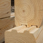 MP100 Log Molder/Planer Stacked Profile