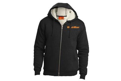 Wood-Mizer Sherpa-Lined Hooded Fleece Jacket